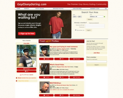 Gay Ebony Dating